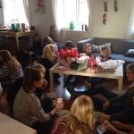 U12 piger til julehygge…