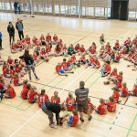 U-18 Landskampe i Vanløsehallen