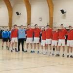 Billeder fra U18 Landskampe i Vanløsehallen